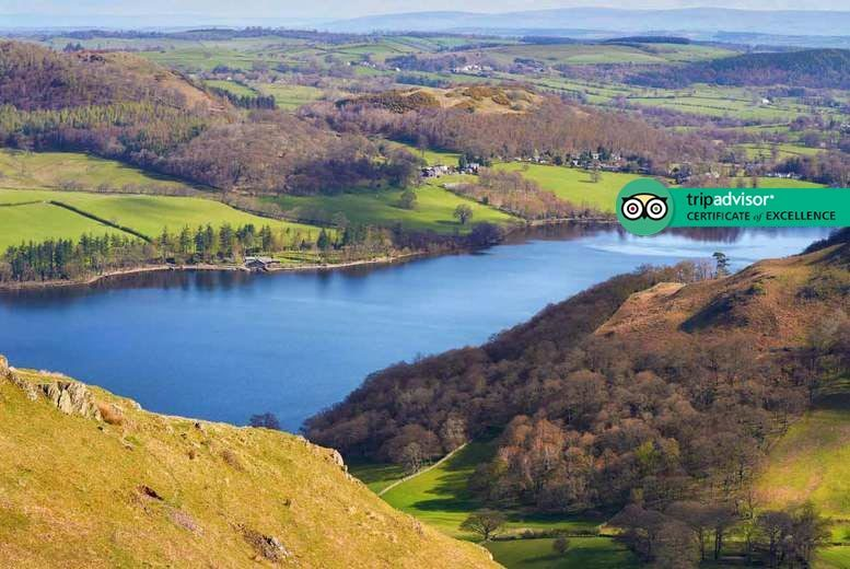 2-3nt 4* Cumbria Countryside Mini-Break and Breakfast for 2