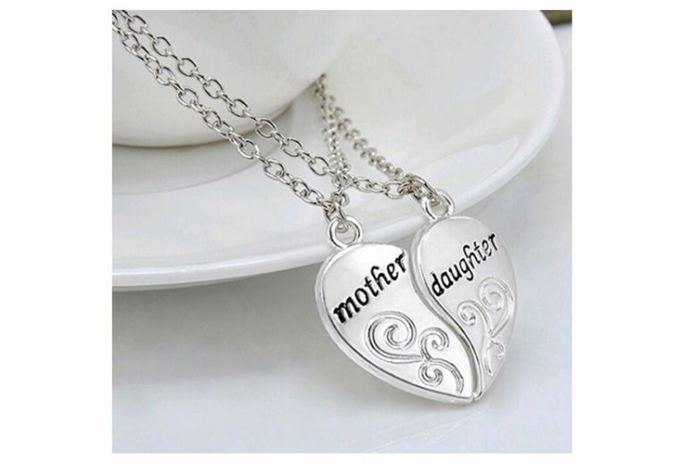Pair of Mother and Daughter Pendants for £8