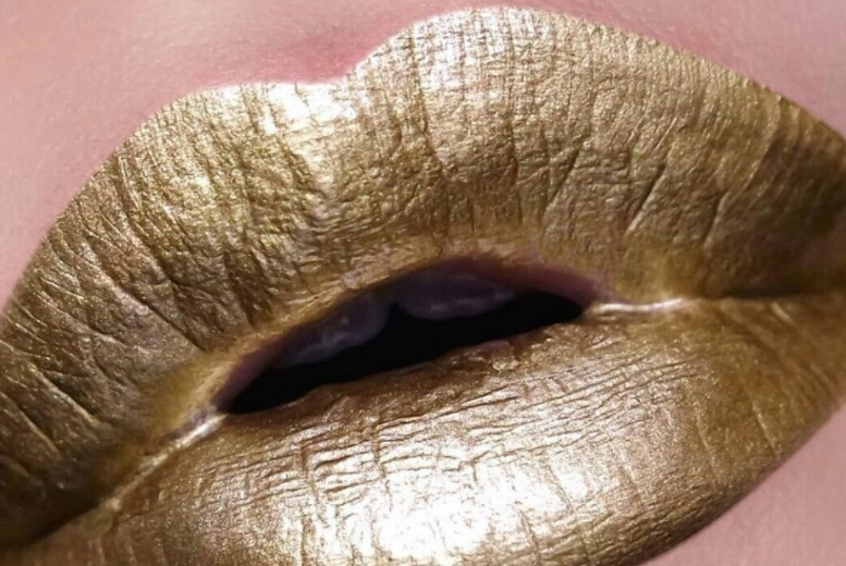 Metallic Gold Lip Paint for £3.99