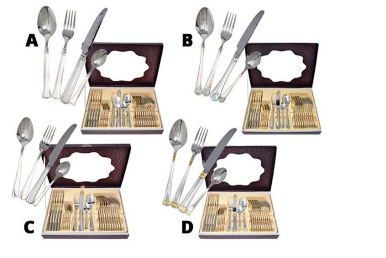 24pc Cutlery Set  4 Designs!