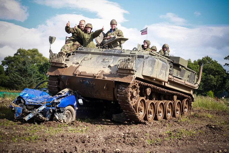 Edinburgh: Tank Riding or Driving Experience for 1, 2 or 4 from £29