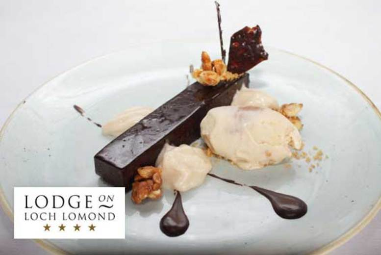 Glasgow: Two-Course Dining for 2 @ Lodge on Loch Lomond – Leisure Access Option! from £19