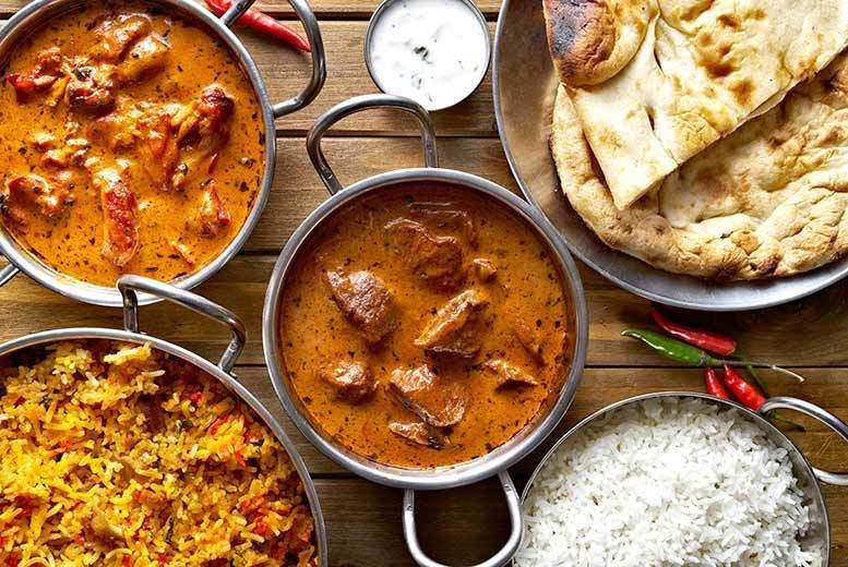 Edinburgh: 5-Course Indian Dining for 2 @ Shri Bheema's – 3 Locations! for £12
