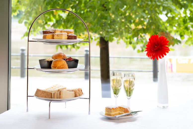 Prosecco Afternoon Tea for 2 or 4 @ 4* Copthorne Hotel Newcastle