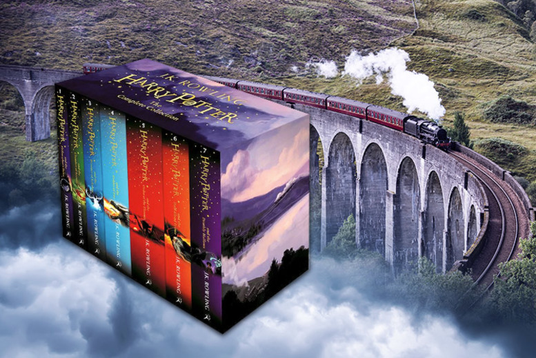 Complete 7-Book Harry Potter Collection
