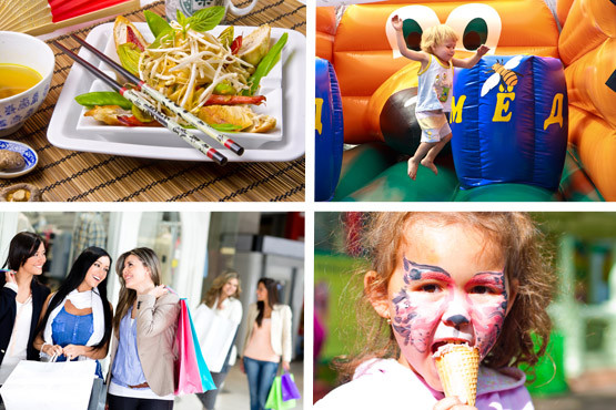 £2.99 for a child tkt to the shopping event & fun day at Aston Arena on 7th July or £4.99 for an adult tkt or £9 for a family tkt - save up to 63%