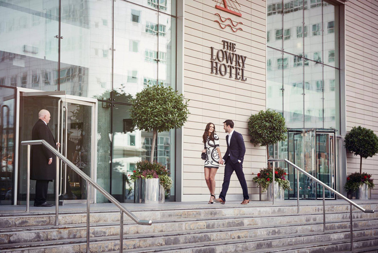 £165 (at The Lowry Hotel) for an overnight stay for two people with breakfast and three-course dining, or £225 to include a 30-minute Elemis spa treatment each – save up to 49%