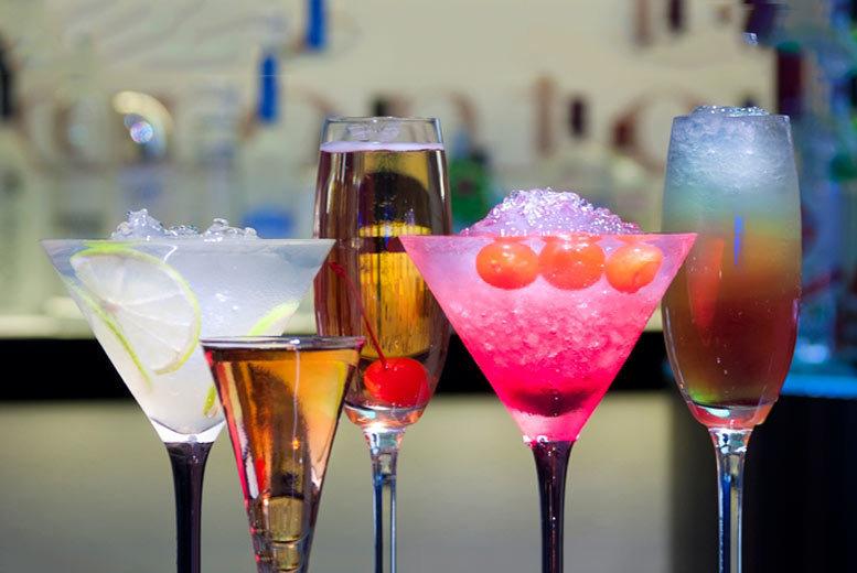 4 Cocktails and Nibbles @ Hampton By Hilton, Glasgow City Centre