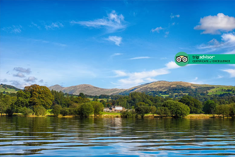 1-2nt Lake District, Windermere Break, Treats and Breakfast for 2