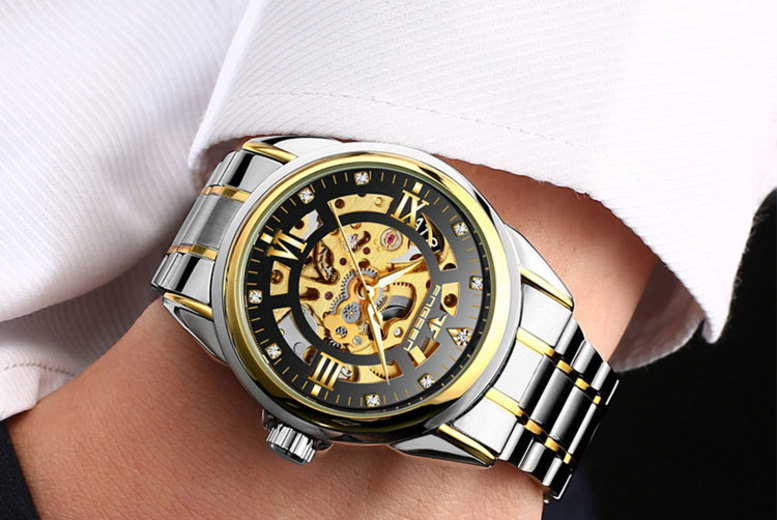 Men's Luxury Automatic Stainless Steel Watches