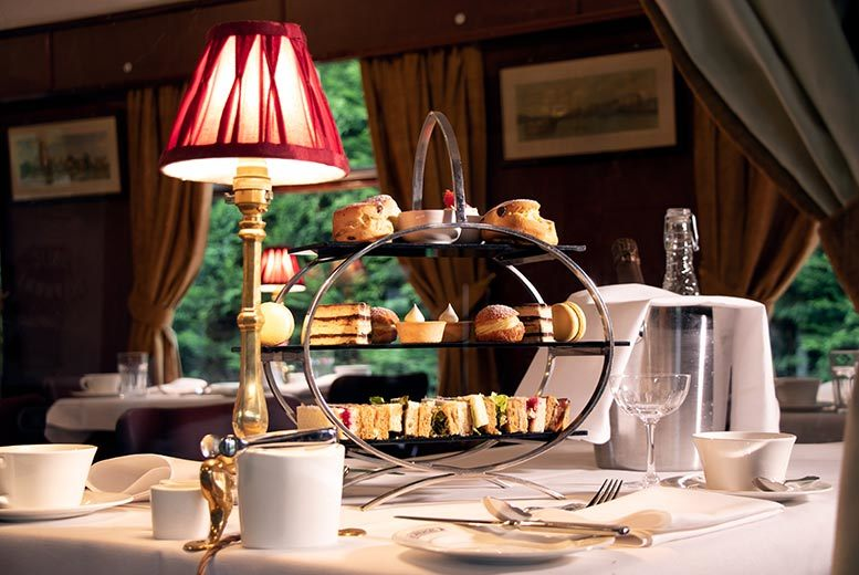 Glasgow: Baby Grand Afternoon Tea & Prosecco for 2, Charing Cross for £19