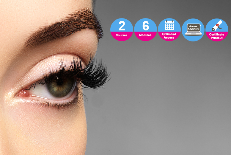 Eyelash Perming & Eyebrow Tinting Bundle – 2 Courses!