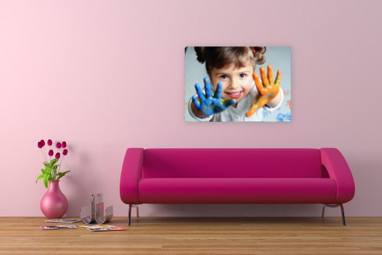 £29.99 instead of £129.99 for a 34 inch x 48 inch custom canvas photo print - save 77% and create your own work of art